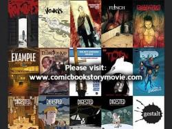 Images of Gestalt Comics Covers